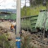 ВБелоярском районе сошли срельс локомотив и 5 грузовых вагонов