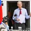 Швеция согласилась о опросе Ассанжа впосольстве Эквадора встолице Англии