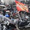 Цуканов ибайкеры возложили цветы кпамятнику 1200 гвардейцам вКалининграде