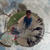 На социальная сеть Facebook  появилось уникальное  панорамное 360° видео