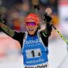 Французские биатлонистки победили вэстафете наэтапеКМ