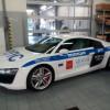 ГИБДД Санкт-Петербурга получила в парк автомобилей Ауди R8