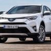 Гибридный кроссовер Тойота RAV4 уже вевропейских странах