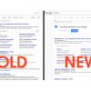 Google примеряет для поисковой выдачи новый шаблон встиле Material Design