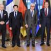 Кремль обусловил встречу Владимира Путина иПорошенко поДонбассу
