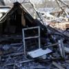 Мать с 2-мя маленькими детьми сгорели впожаре вТатищеве под Саратовом