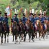 Московские казаки начали двухмесячный конный поход наБерлин