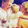 Навка иПесков покрестили дочь