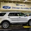 Обновленные Ford Explorer встали наконвейер вЧикаго