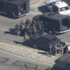 Один подозреваемый внападении вКалифорнии убит вперестрелке сполицией