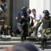 После беспорядков вКиеве доставлены вбольницу 122 человека