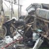 При столкновении двух грузовиков вСамарской области погиб человек
