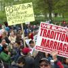 Прошёл многотысячный митинг против однополых браков— Вашингтон