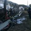 Рейсовый автобус сгорел вПушкинском районе