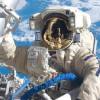 Роскосмос продемонстрировал видео свыходом русских космонавтов воткрытый космос