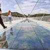 ВКитайской народной республике открыли самый высокий мост изстекла
