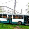 Шофёр попавшего вДТП автобуса вАстане потерял сознание зарулем