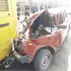 В Кузбассе ВАЗ врезался в автобус, один человек погиб