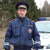 Тверской полицейский, вытащивший человека изгорящей машины, представлен кнаграде