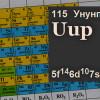 Ученых хотят назвать 115-й элемент таблицы Менделеева вчесть Подмосковья