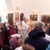 Успенский храм освятили вселе Хвастовичи