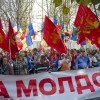 ВКишиневе протестующие пикетировали строение парламента Молдавии