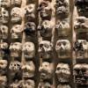 ВМексике обнаружили стену изчеловеческих черепов