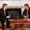 ВМинске состоялась встреча глав «Нафтогаза» и«Газпрома»