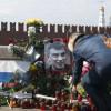 ВМоскве втретий раз разорили народный мемориал Бориса Немцова