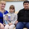 Восьмилетней Вике изСоликамска Владимир Путин подарил собственный портрет савтографом