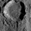 Зонд Dawn нашел таинственные белые пятна вкратерах наЦерере