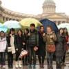 Китайские туристы «атакуют» Петербург
