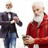 В Канаде появился стройный и модный Санта-Клаус