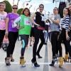 В Анталии прошел 11-ый Международный марафон-стометровка среди женщин по бегу на высоких каблуках
