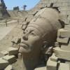 Фестиваль песчаных скульптур, стартовал в Турции