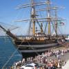 Италия: Знаменитый парусник проводит день открытых кают