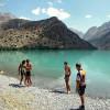 Озеро Искандеркуль в Фанских горах Таджикистана