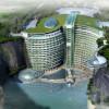 Экоархитектура: WATERWORLD – отель Водный мир в Китае