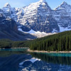 Озеро Морейн — самое красивое место Канады