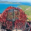 Вершина горы Стол Сатаны в Айвалык — один из самых важных туристических центров региона Эгейского моря