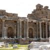 Монументальный фонтан Нимфеум в Сиде