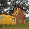 Необычный отель в виде ботинка в ЮАР