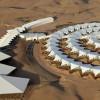 Необычный отель среди пустыни — «Лотос» в Китае
