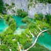 Чарующие пейзажи Плитвицких озер в Хорватии