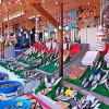 Огромный Рыбный рынок Кумкапы в Стамбуле