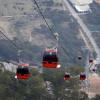 В Анталии заработала канатная дорога на гору Тюнектепе