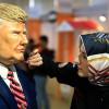Изюминкой на Турецком фестивале шоколада в эту субботу стал бюст президента Трампа
