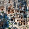 Где можно увидеть Ликийские гробницы в Турции?