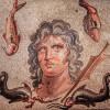 Мозаика Перге с изображением титана Океана и медузы Горгоны будет выставлена в Анталии в Турции