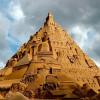 Песочный замок в 17 метров в германском Дуйсбурге претендует на мировой рекорд Гиннеса
